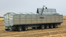 Galvanised Chassis Bins